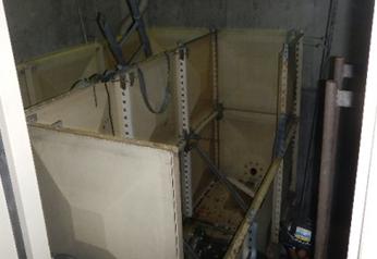 受水槽・高架水槽取替工事